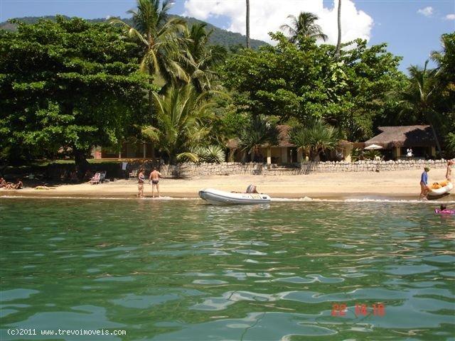 Casa pé na areia em Ilhabela
